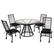 Memoir 5 Piece Dining Set by Stori Modern