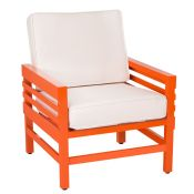Graphic Contemporary Patio Lounge Chair by Stori Modern