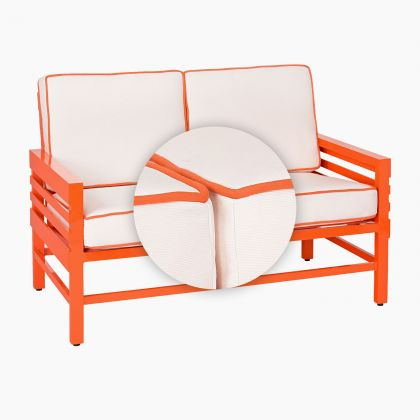 Graphic Love Seat Replacement Cushion