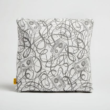 Outdoor Throw Pillow - Mix Tape by Stori Modern