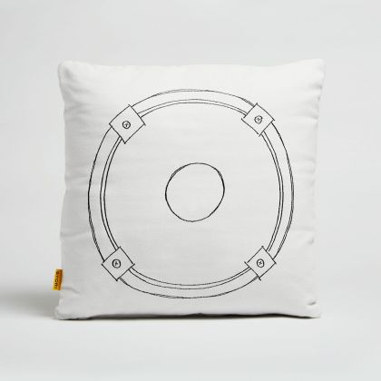 Speaker Outdoor Pillow