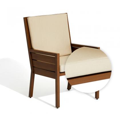 Script Dining Armchair Seat + Back Cushion Set