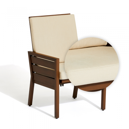 Script Motion Dining Chair  Seat + Back  Cushion Set