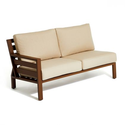 Script Outdoor Left Arm Love Seat