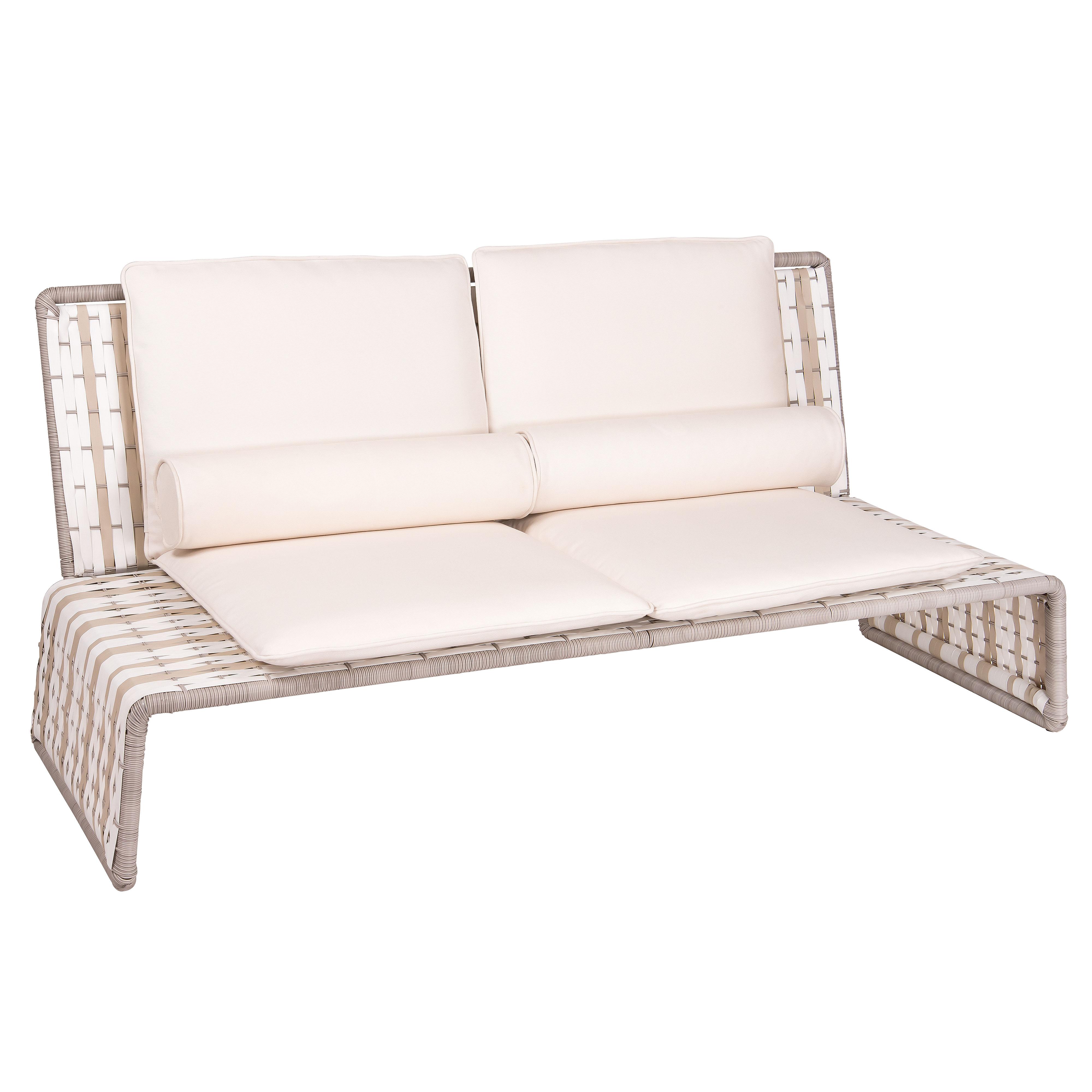Tabloid Contemporary Outdoor Love Seat