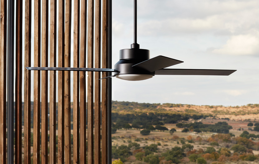 stori modern dialogue outdoor wet-rated ceiling fan