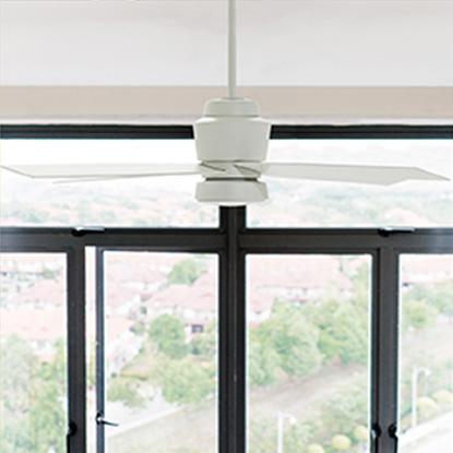 stori modern dialogue outdoor wet-rated ceiling fan
