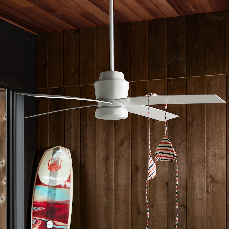 Stori Modern Prologue Outdoor Ceiling Fan with Bikini Top