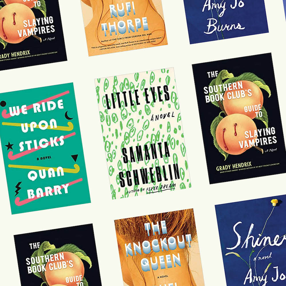 fiction book covers of recommended summer reads