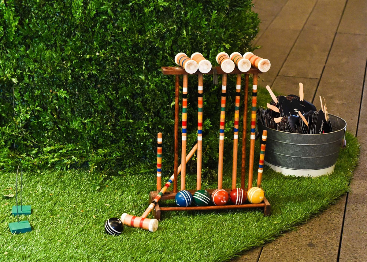 create summer hygge by playing croquet