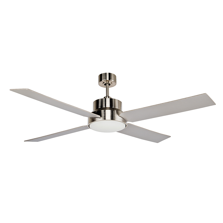 Stori Modern Outdoor Ceiling Fan - Dialogue in Chrome