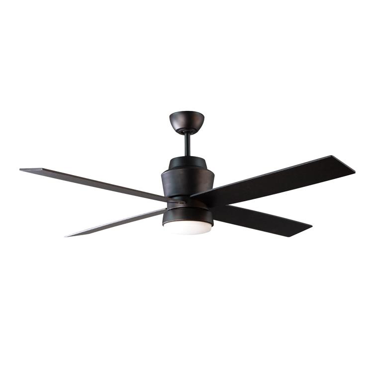 Stori Modern Outdoor Ceiling Fan - Prologue in Black