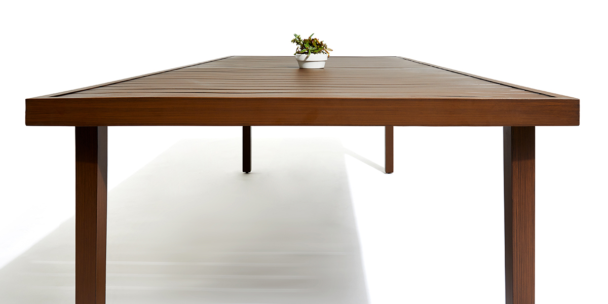 stori modern outdoor dining table from the script collection
