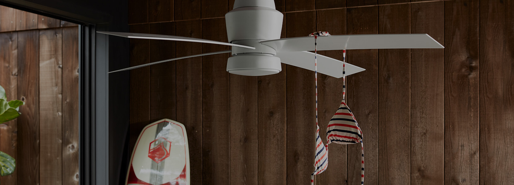 Stori Modern Outdoor Ceiling Fan Prologue Collection