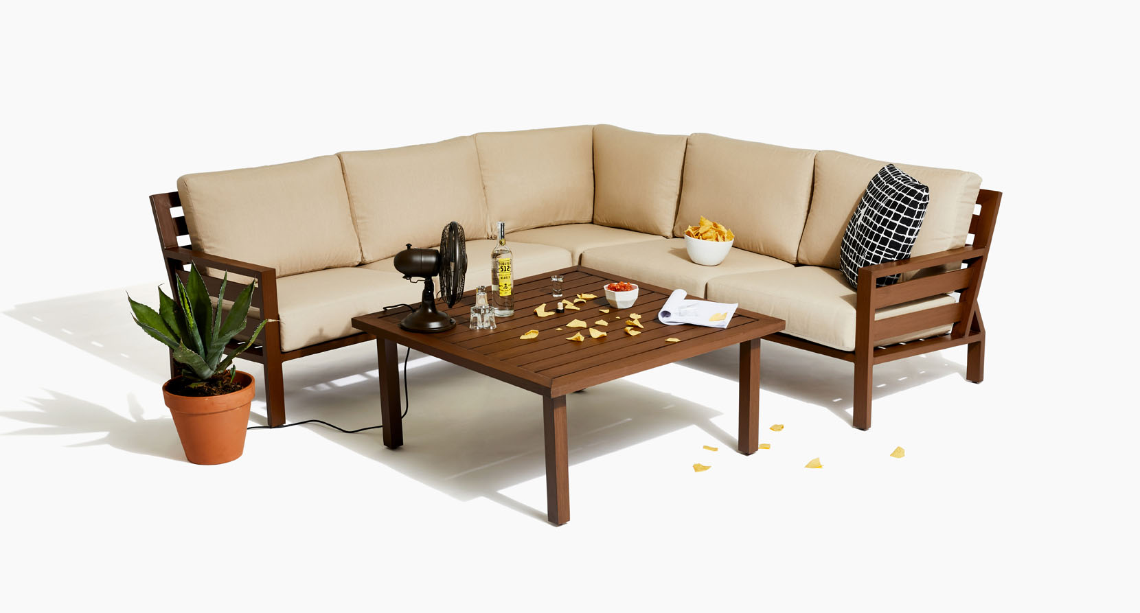 The Script Collection patio sectional