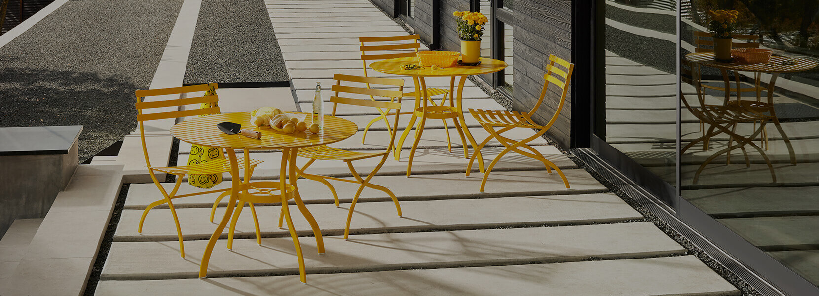 Stori Modern Outdoor Bistro Set Journal Collection