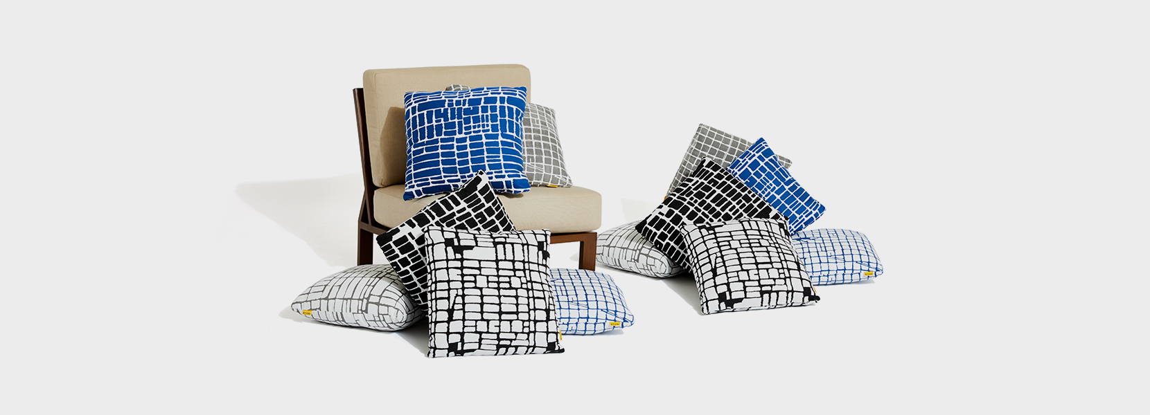 Stori Modern Outdoor Throw Pillows