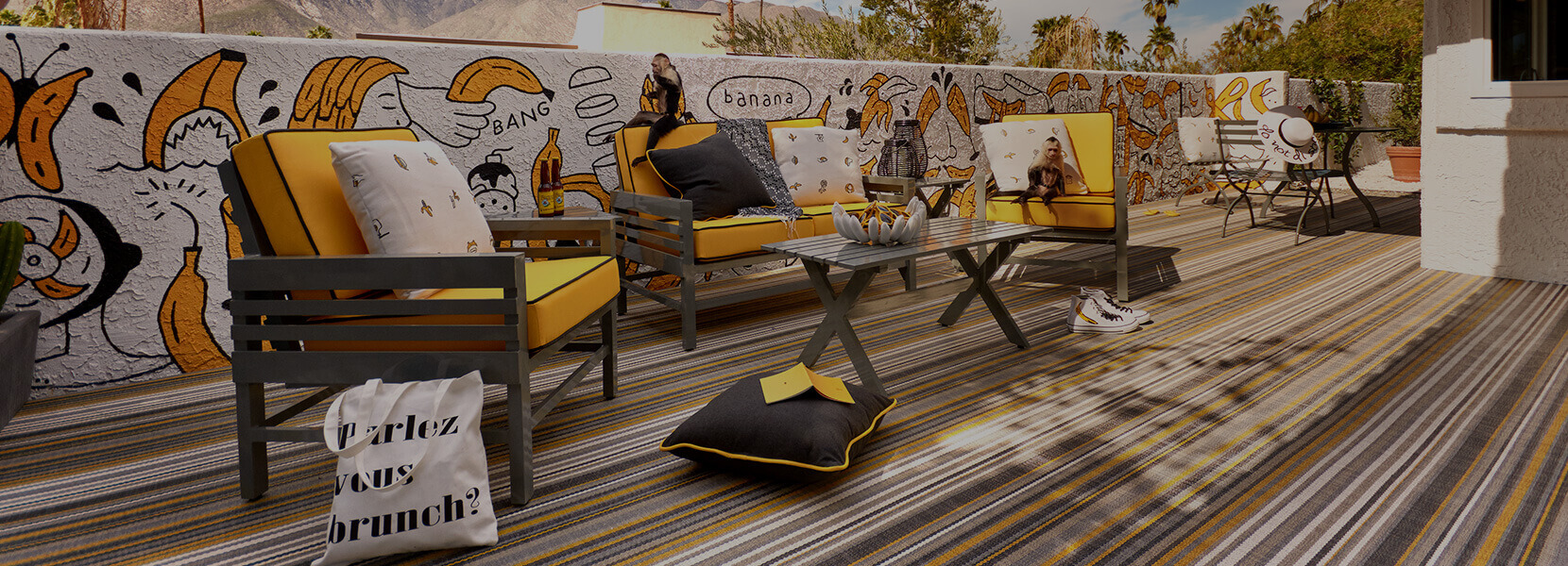 Stori Modern Outdoor Furniture Graphic Collection