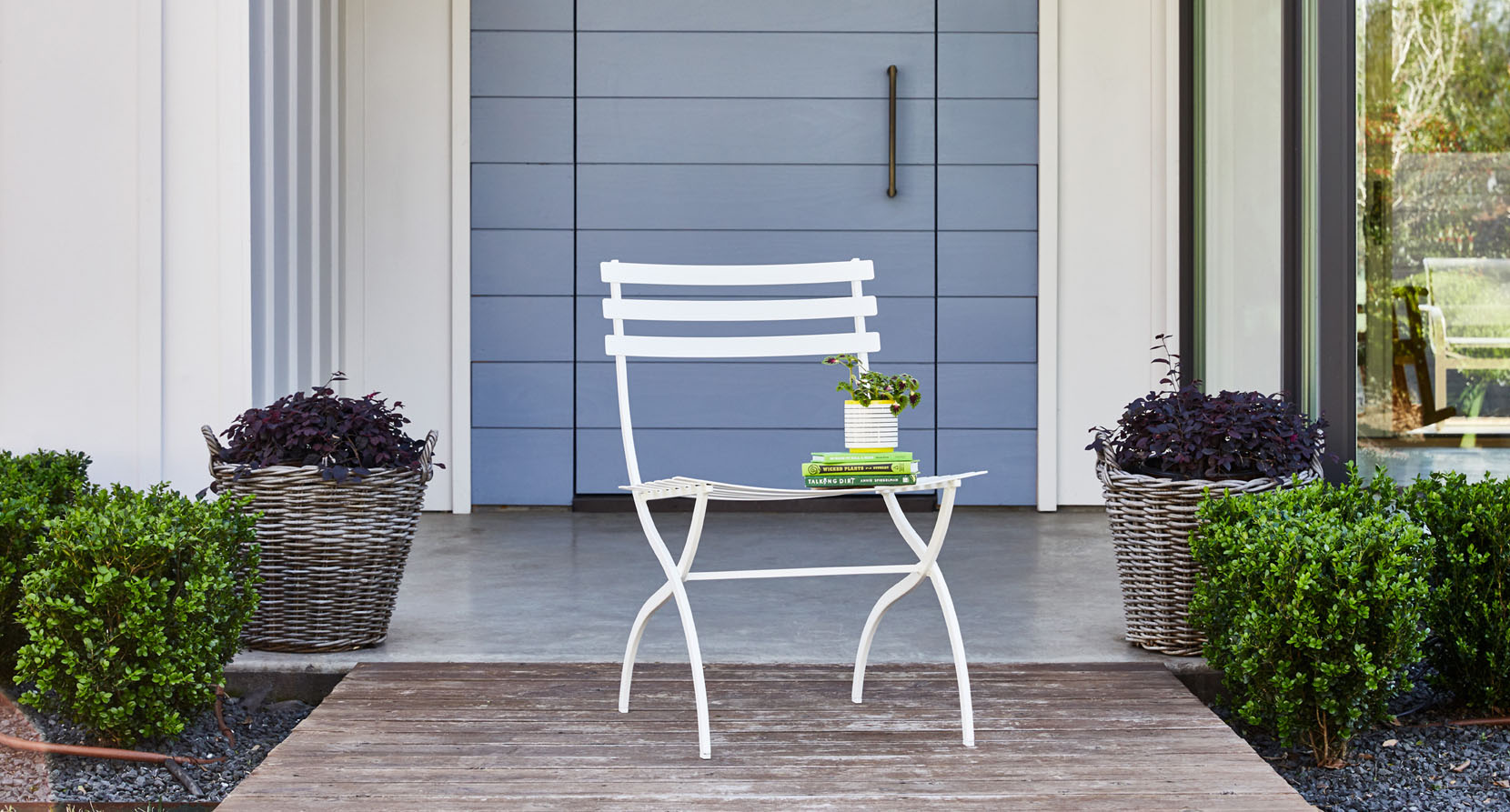 The Journal Collection Outdoor Dining Side Chair