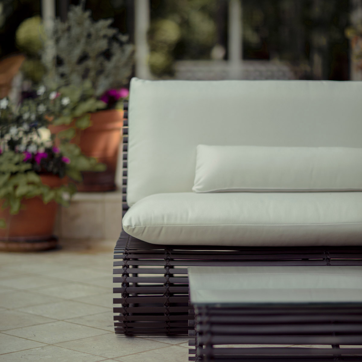 stori modern Novel outdoor loveseat