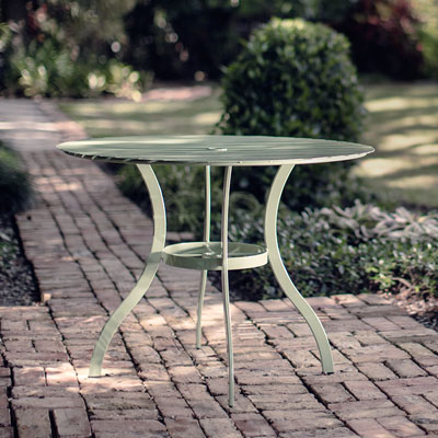 stori modern journal outdoor dining table