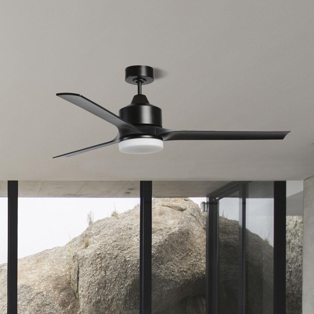stori modern verse indoor ceiling fan in black