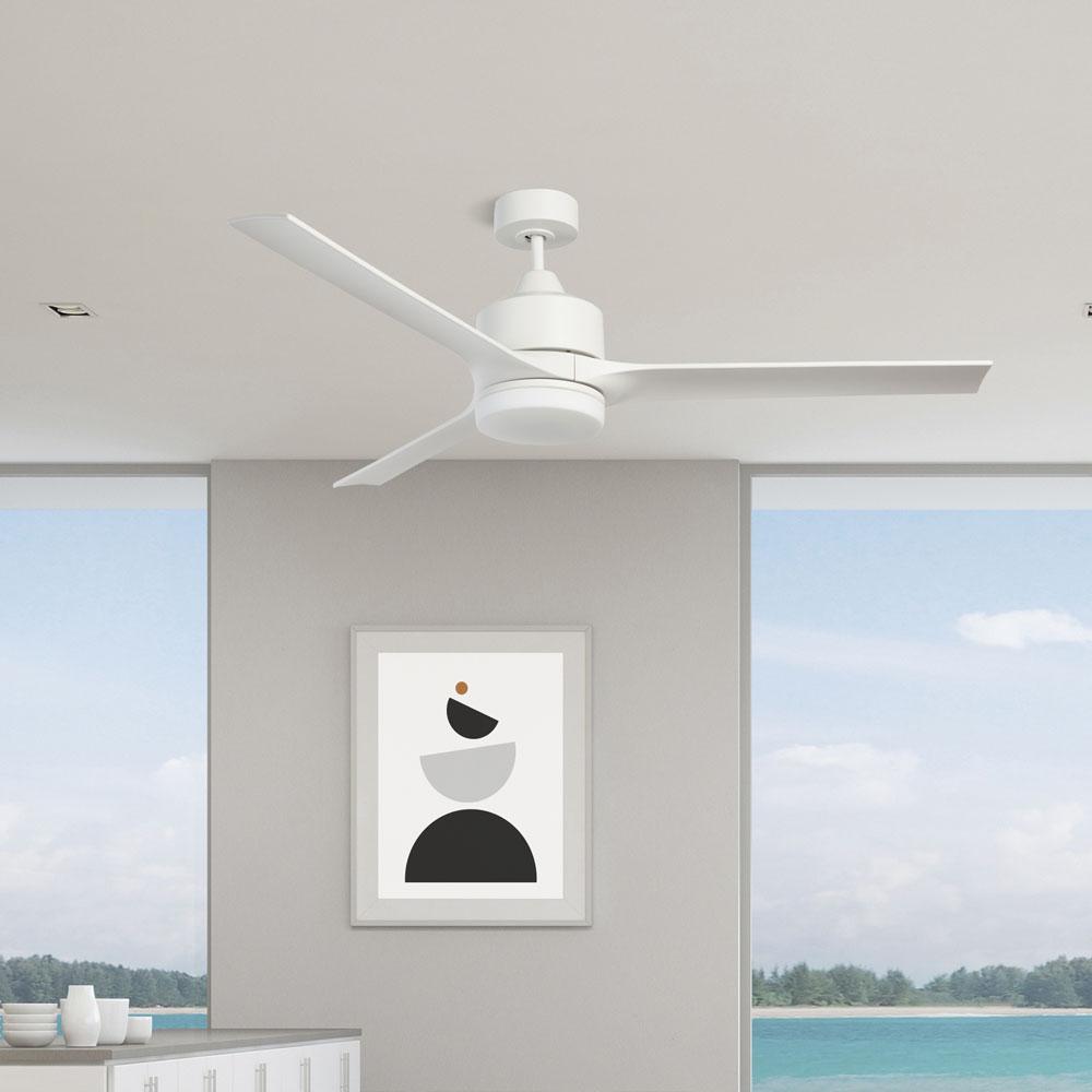 stori modern verse indoor ceiling fan in white